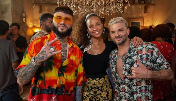 Pedro Capó, Alicia keys and Farruko