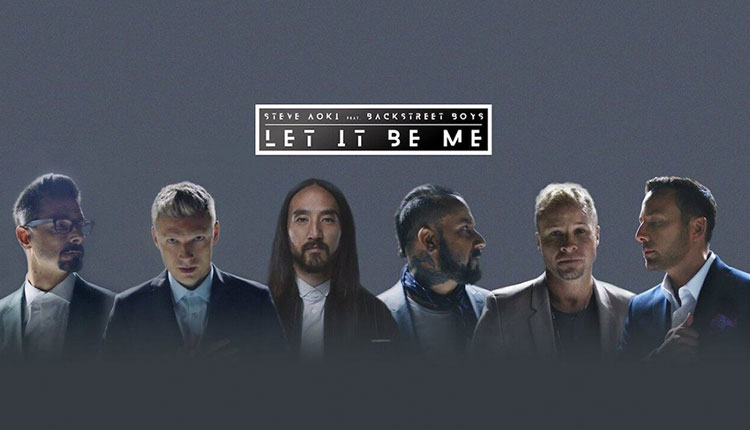 Backstreet Boys and Steve Aoki