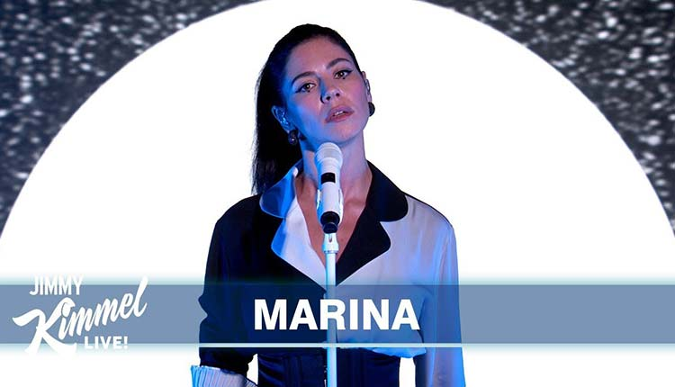 Marina Jimmy Kimmel live
